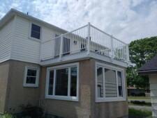 A leaky roof deck in Ontario repaired with Duradek