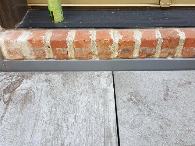 counter flashing waterproof details with tile flashing