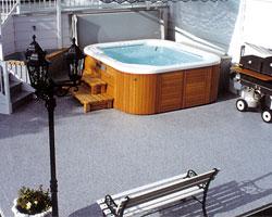 Duradek Hot Tub Surround