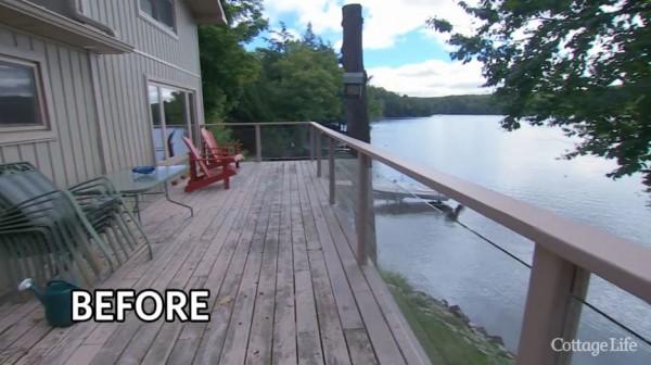 Before Duradek, this deck was a high maintenance chore.