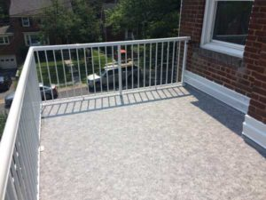Duradek PVC Flat Roof Deck