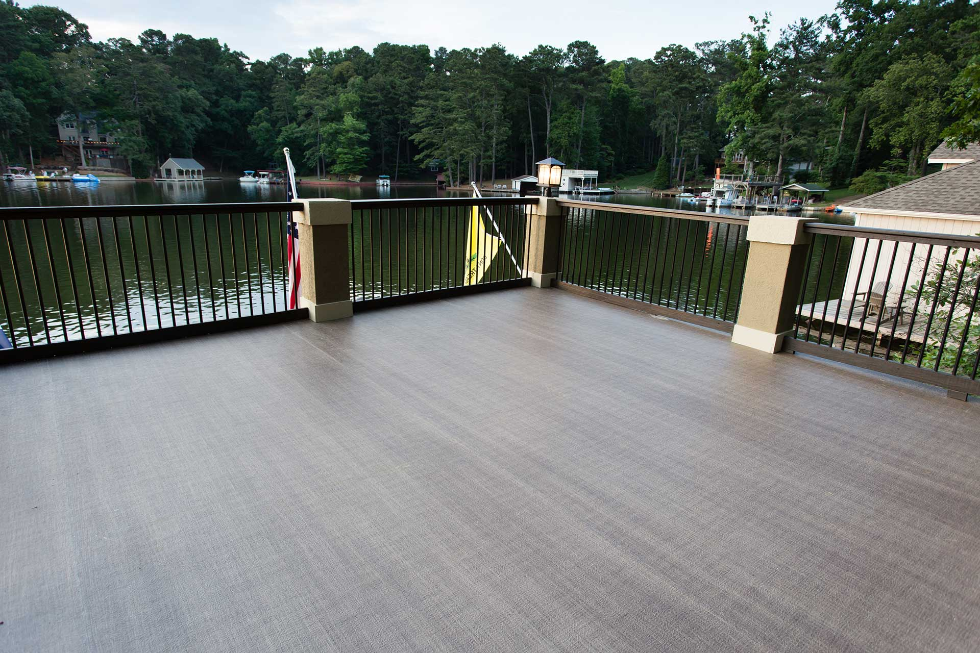 Duradek Boathouse Roof Deck