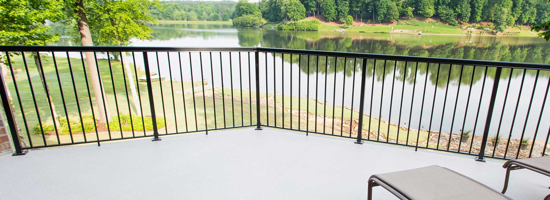 Aluminum Deck Railing System Options - Picket, Glass, Topless Glass ...