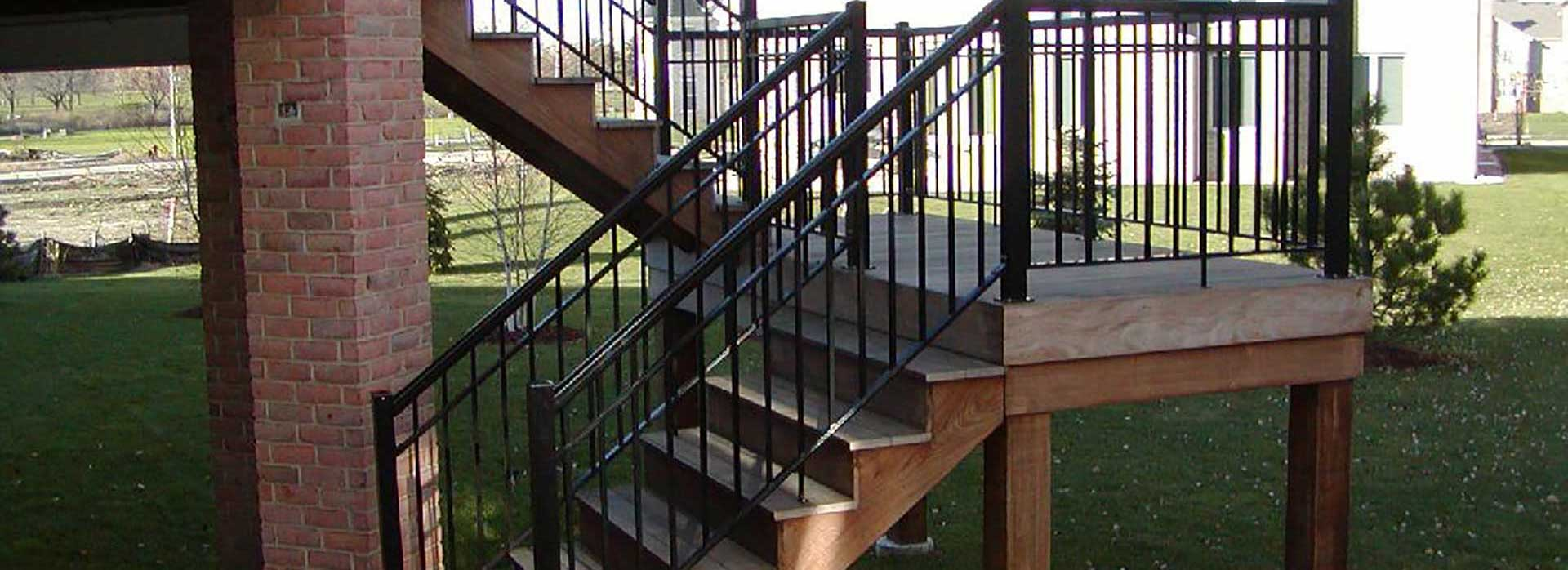 28 Porch Stair Railing Kits Vinyl Railing Systems Stair Railings Building Products 25