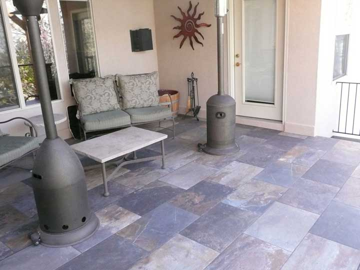 Tiledek Sundeck with furnature