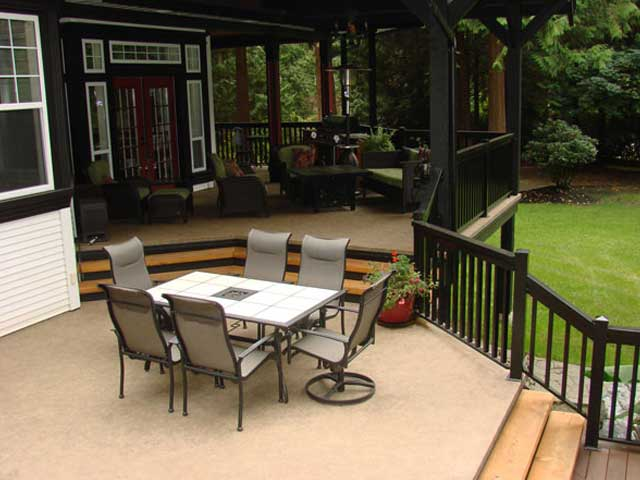 here it covering two large deck floating decks patio s with pin a pergolas
