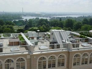 Flat Roof Deck on Multi-residential building