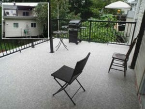 Duradek deck for homeowner satisfaction