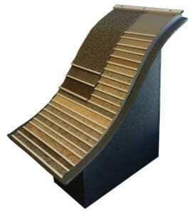 Duradek vinyl decking color selection waterfall