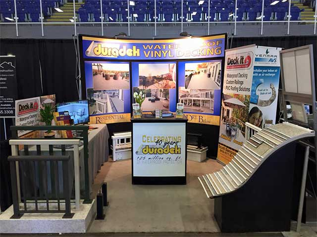 Deck It Ltd. Home Show booth