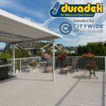 Duradek vinyl deck by Citywide Sundecks