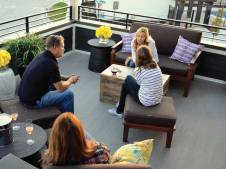 Family Enjoying a Duradek Waterproof Deck