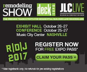 Free Registration for R|D|J show 2017 from Duradek
