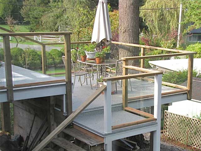 Duradek Waterproof Vinyl on Elevated Sundeck