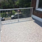 low maintenace torch-on flat roof transformation