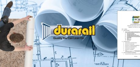 Header Image - 3 part specifications - Durarail Aluminum Railings