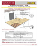 Duradek Techtalk 126 US - Substrate Preparation for Plywood