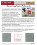 Duradek Techtalk 140 - Substrate Preparation for Concrete Surfaces