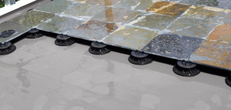Floating Deck System Waterproofing Membrane - Plazadek System by Duradek