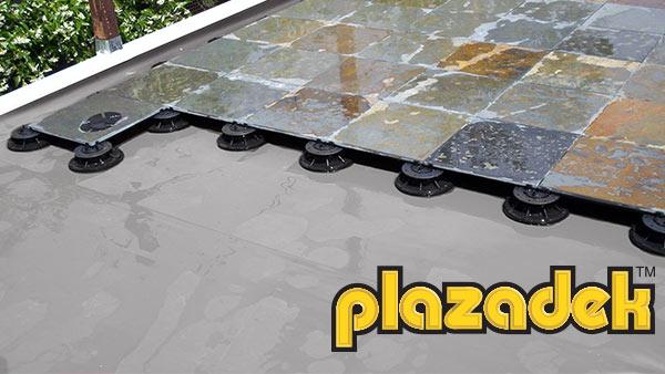 Plazadek by Duradek - Waterproofing Under Floating Deck Systems