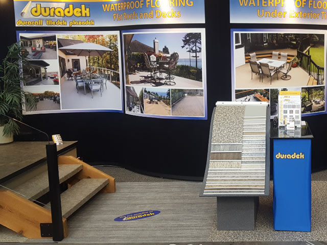 Look for Duradek at the 2018 BC Home & Garden Show