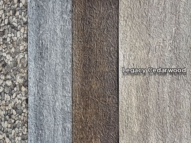 Cedarwood vinyl decking - New Color of Duradek Legacy Line of Vinyl Decking