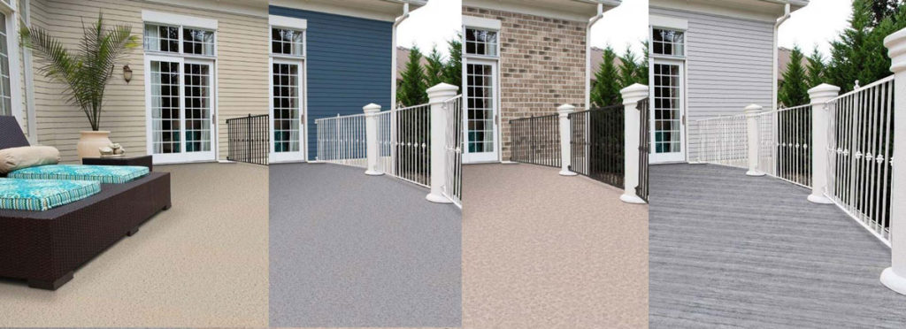 Virtual Deck Design with 4 options from Dek Vision by Duradek Vinyl Deck and Railings