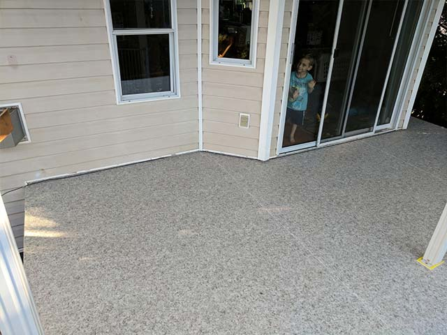 Donate-A-Deck Winning Deck - Little Boy Loves New Duradek Heritage Agate Deck