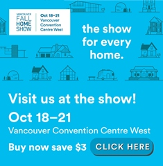 Registration Link for Vancouver Fall Home Show