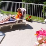 Enjoy summer holidays on a vinyl deck