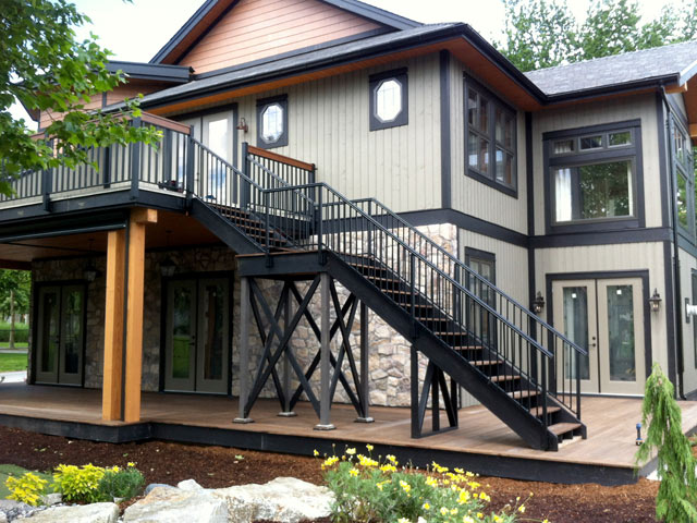 PNE Prize Home 2012 with Durarail Adjustable Stair Railings