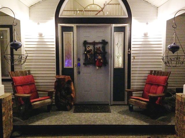 Duradek Christmas Porch