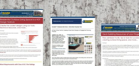 Duradek Newsletters - Sign up for Decking and Flat Roof Deck Related News