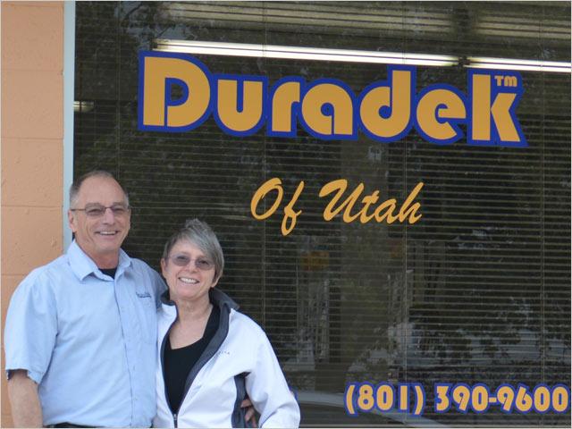 Duradek of Utah's Matt and Samantha McClure