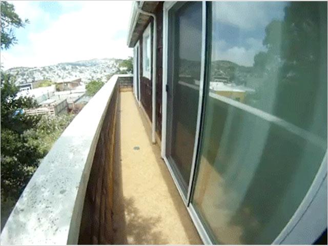 narrow deck by Golden Gate Enterprises