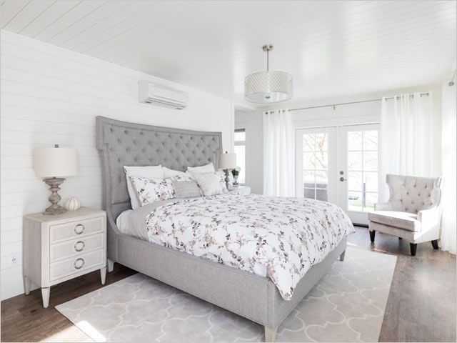 PNE Prize Home 2019 Master Bedroom with Balcony by Duradek
