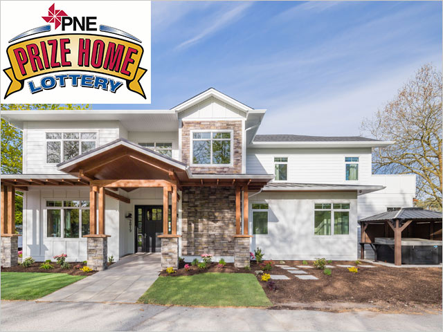 PNE Prize Home front view