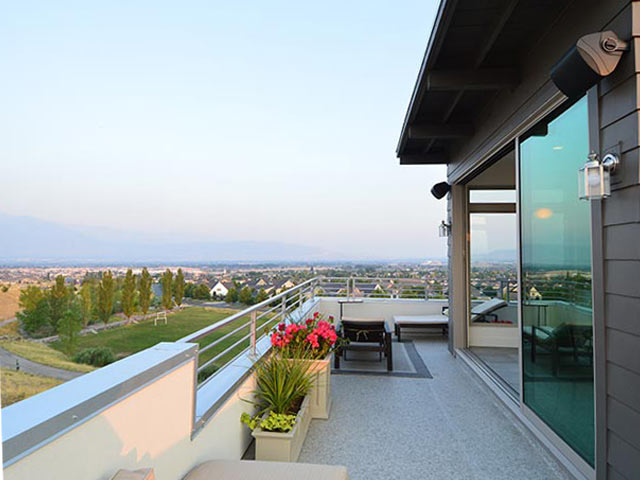 New Home Roof Deck in Salt Lake City, UT