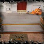 Front Porch Halloween Theme