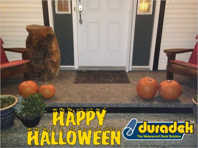 Front Porch Halloween Greeting from Duradek