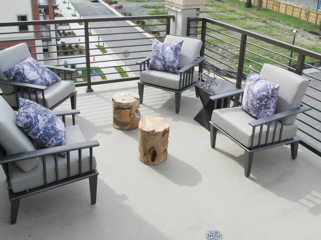 Duradek Multi-residential Balcony Surcoseal Grey