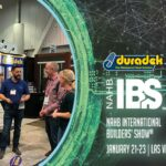 Duradek is at the International Builders Show 2020, Las Vegas