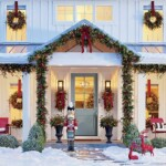 Christmas porch from grandin road blog