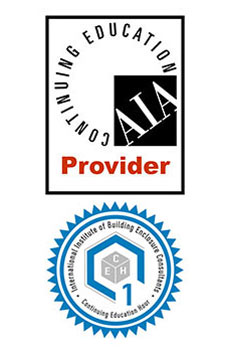 Registered CES Provider Learning Unit Credits for AIA and IIBEC
