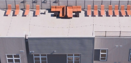 Commercial Roof Deck Waterproof Vinyl Decking - Duradek