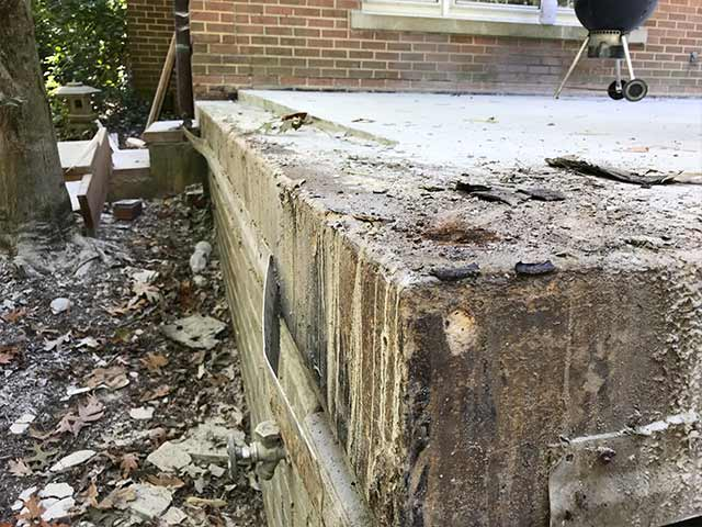 Problems with concrete