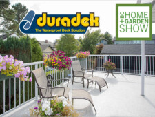 Duradek is at the BC Home & Garden Show - booth #1769