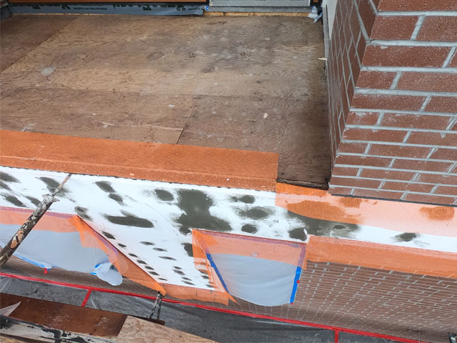 Roof Deck Construction Sequencing with Pre-Flashing Over Fascia