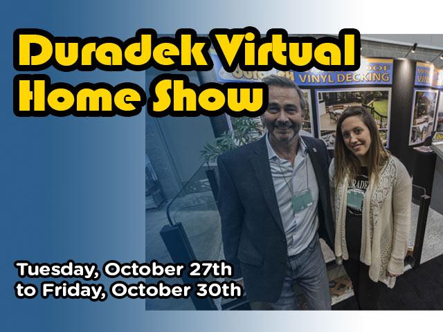 Duradek Virtual Home Show 2020 - Decking