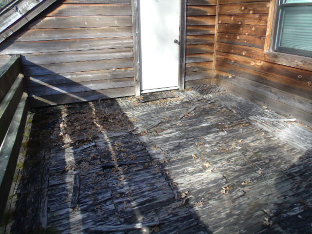 Common Deck problem of wood rot